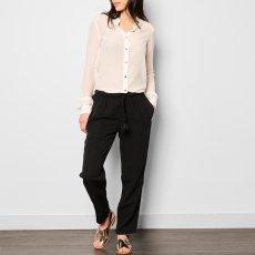 Pomandère Linen and Viscose Loose Trousers-listing