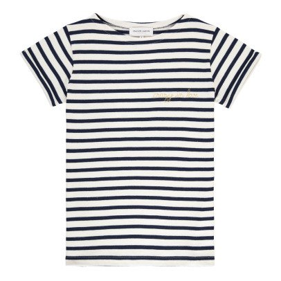 Maison Labiche T-shirt Righe Crazy in Love-listing
