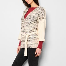 Sessun Giacca Kimono Jacquard-listing