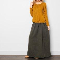 Numero 74 Blouse Manches Longues Naia - Collection Ado et Femme - Jaune moutarde-product