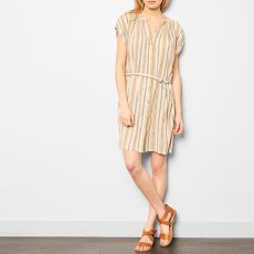 Soeur Voisine Striped Shirt Dress with Belt-product