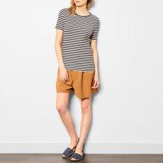 ANECDOTE Tania Stripe Ribbed T-Shirt-listing