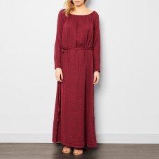 Numero 74 Robe Longue Nina  - Collection Ado et Femme - Rouge framboise-listing