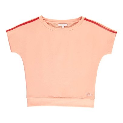 Chloé Short Sleeve Sweatshirt with Coloured Bands-product