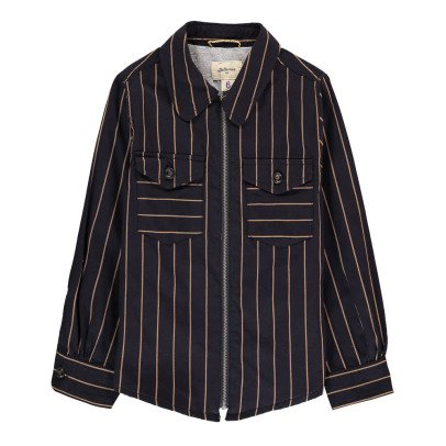 Bellerose Veste Sur-chemise Rayée Leho-listing