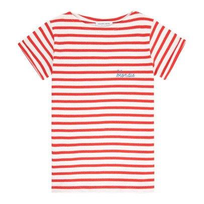 Maison Labiche T-shirt Marinière Brodée Blondie-listing