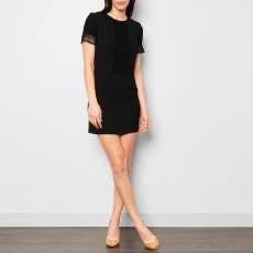Sessun Baila Lace Crepe Dress-product