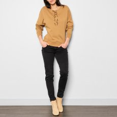 Sessun Lassie Lace Up Oversize Sweatshirt-product