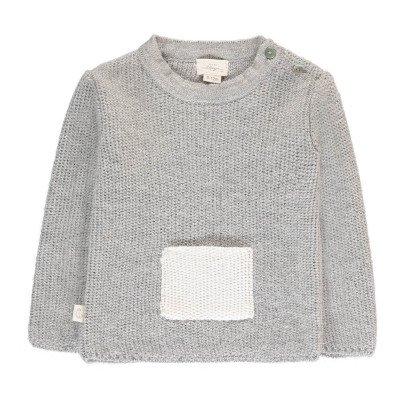 BABY ALPAGA Pullover Baby Alpaca Bolsillo Galipette-listing