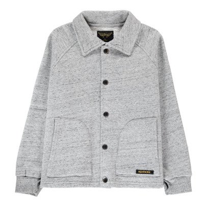 Finger in the nose Relax Button-Up Sweatshirt-listing