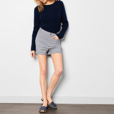Soeur Puppet Checked Shorts-product