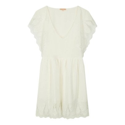 Louise Misha Ongine Embroidered Ruffle Dress - Women's Collection-product