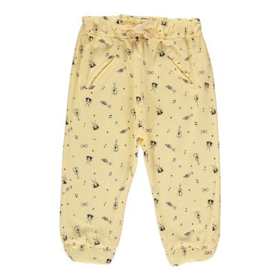 Emile et Ida Music Jogging Bottoms-listing