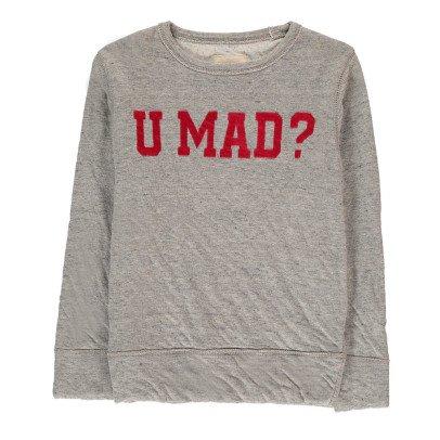 "Bellerose Sweat Double Jersey""U Mad"" Sokaw-listing"