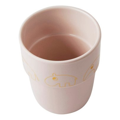 Done by deer Yummy Contour Gold Melamine Cup-listing