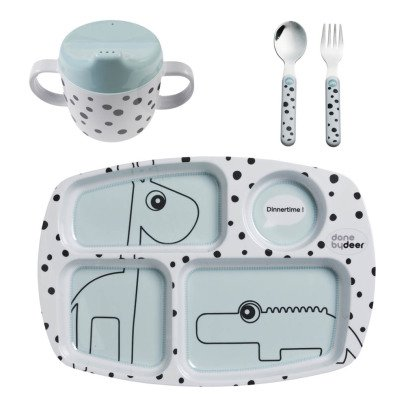 Done by deer First Meal Dot Tableware Set-listing