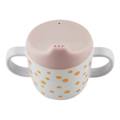 Done by deer Dots Gold Melamine Baby Cup-listing