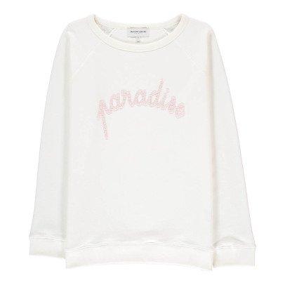 Maison Labiche Paradise Embroidered Sweatshirt-listing