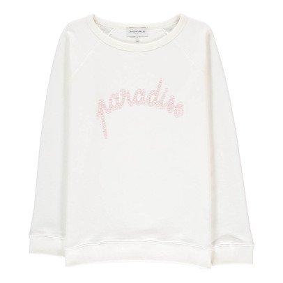 Maison Labiche Sweatshirt Paradise Stickerei -listing