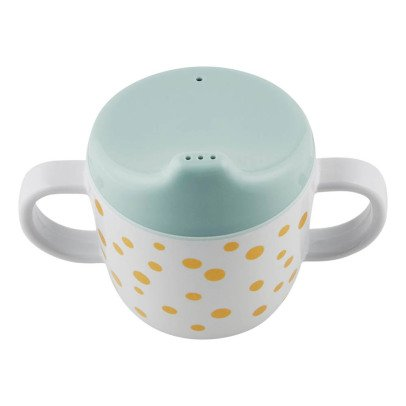 Done by deer Tasse d'apprentissage Dots en mélamine Or-listing