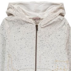 Emile et Ida Cat Nep Hoodie with Zip-listing