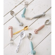 Done by deer Yummy Plus Dots Cutlery Set-listing