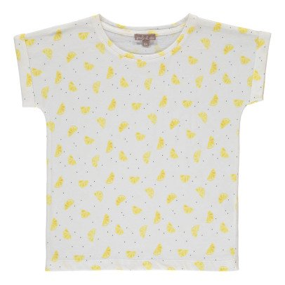 Emile et Ida Lemon Polka Dot T-Shirt-product