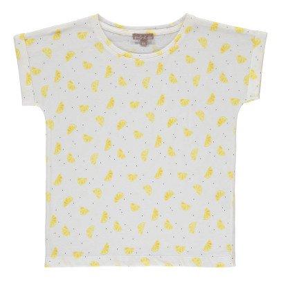 Emile et Ida T-shirt Citrons Pois-listing