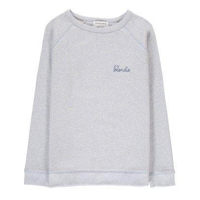 Maison Labiche Sweatshirt Blondie Stickerei -listing