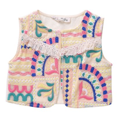 Louise Misha Tibet Embroidered Cardigan-product