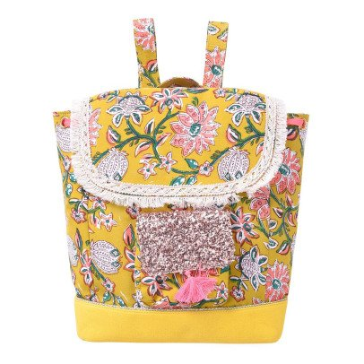 Louise Misha Samsara Pompom Flower Backpack-listing