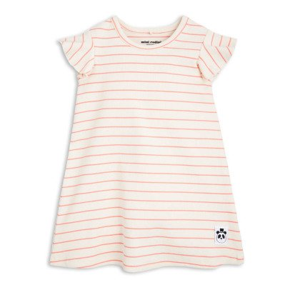 Mini Rodini Organic Cotton Striped Trapeze Dress-product