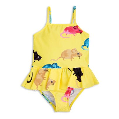 Mini Rodini Mr Mouse 1 Piece Swimsuit-listing