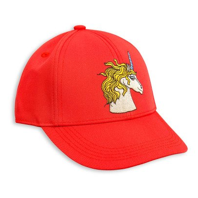 Mini Rodini Unicorn Embroidered Cap-listing