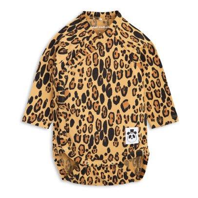 Mini Rodini Organic Cotton Leopard Wrap Body-product