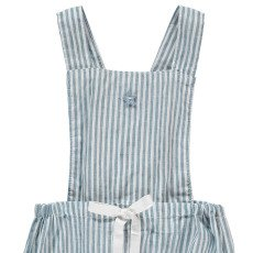 Tocoto Vintage Striped Dungarees-product