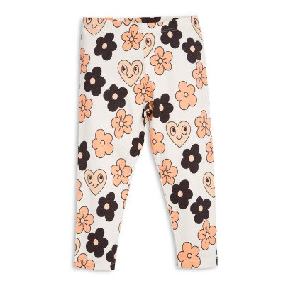 Mini Rodini Organic Cotton Flower Leggings-product