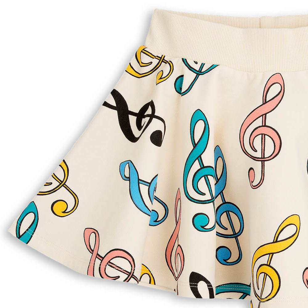 Clefs Organic Cotton Fleece Skirt-product