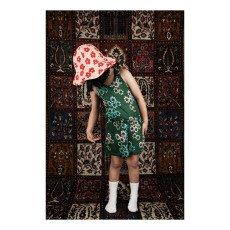 Mini Rodini Kurzer Overall mit Blumen Daisy -listing