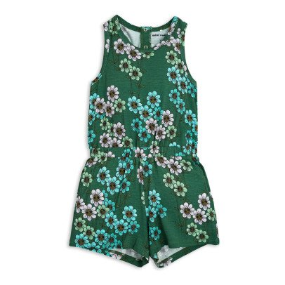 Mini Rodini Daisy Floral Playsuit-product