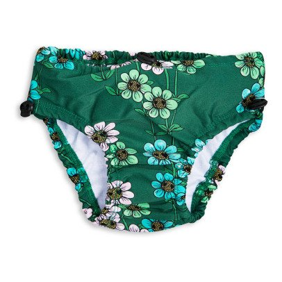 Mini Rodini Daisy Floral Swimming Bottoms-product