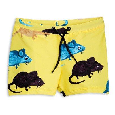 Mini Rodini Mr Mouse Swimming Trunks-listing
