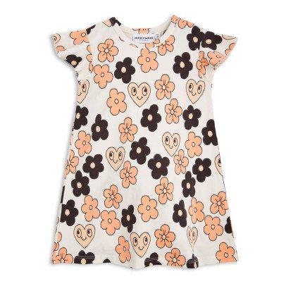 Mini Rodini Vestito Fiori T-shirt Leoni Cotone organico-product