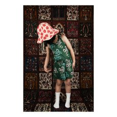 Mini Rodini Organic Cotton Floral Hat-listing