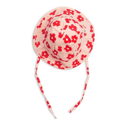 Mini Rodini Organic Cotton Floral Hat-listing