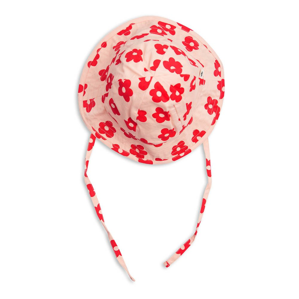 Mini Rodini Organic Cotton Floral Hat-product