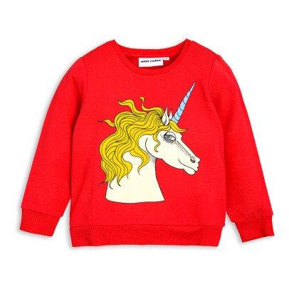 Mini Rodini Sweatshirt Einhorn -listing