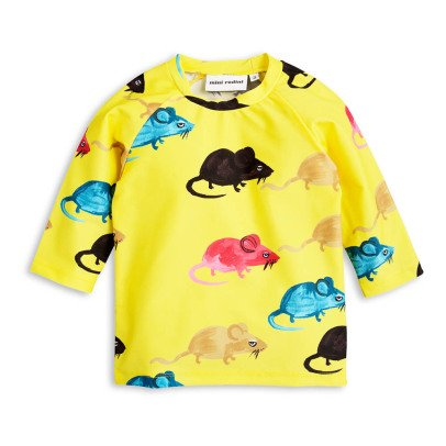 Mini Rodini Mr Mouse UV Protective T-Shirt-listing
