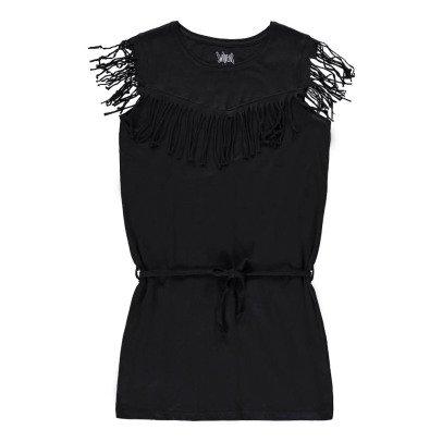 Swildens Teen Kleid mit Franzen Qobalt-listing