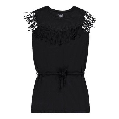 Swildens Teen Qobalt Fringe Dress-listing
